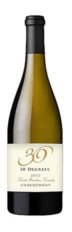 30 Degrees Chardonnay Santa Barbara County